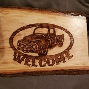 Other - Woodburned plaque
